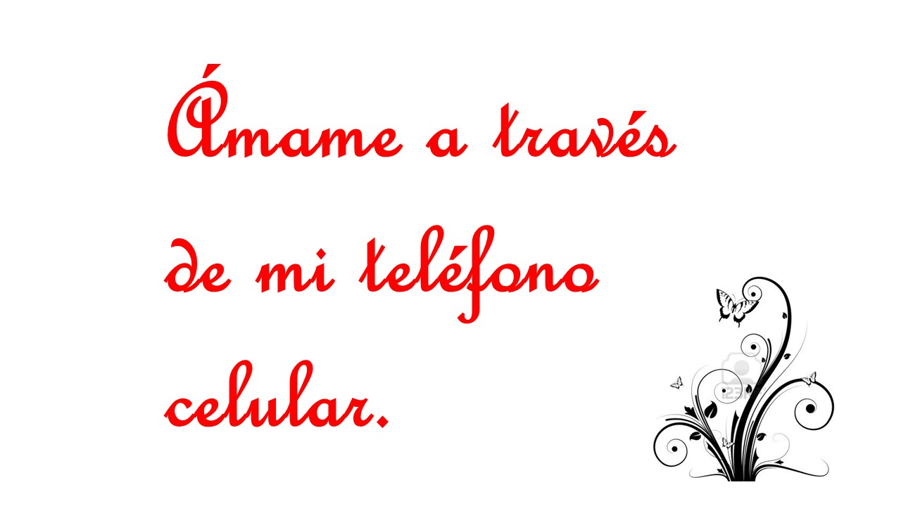amame a traves